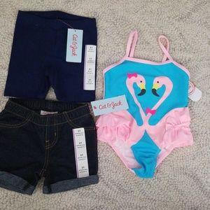 2t NEW Shorts & Swim